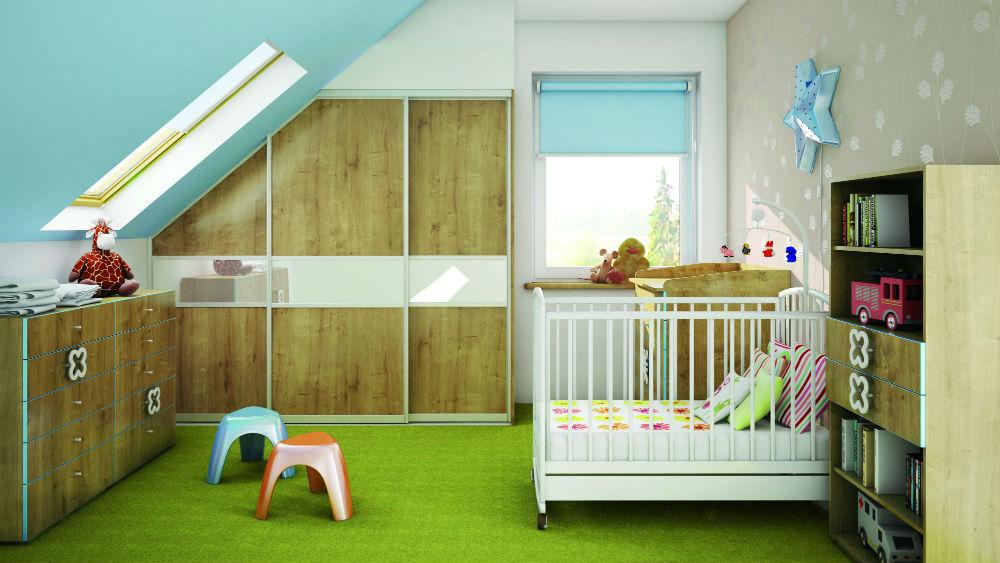Urządzenie pokoju dla niemowlaka